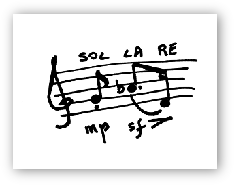 write to SOL - LA - RE